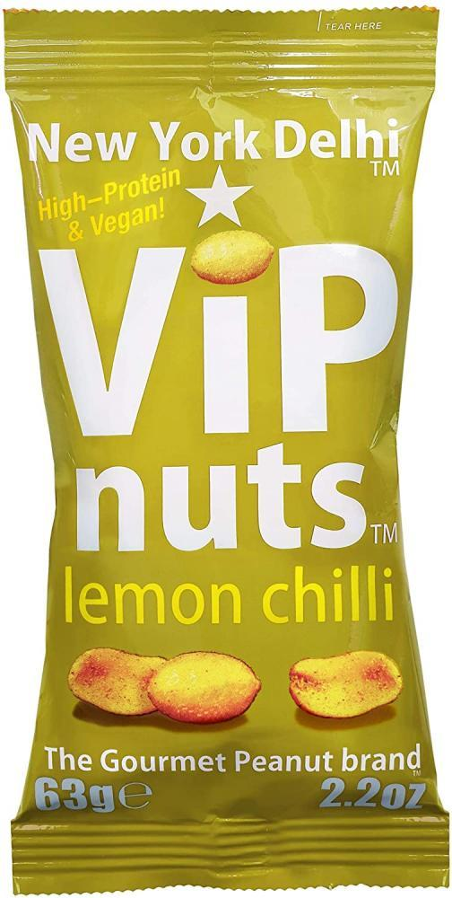New York Delhi VIP Nuts Lemon Chilli 63g