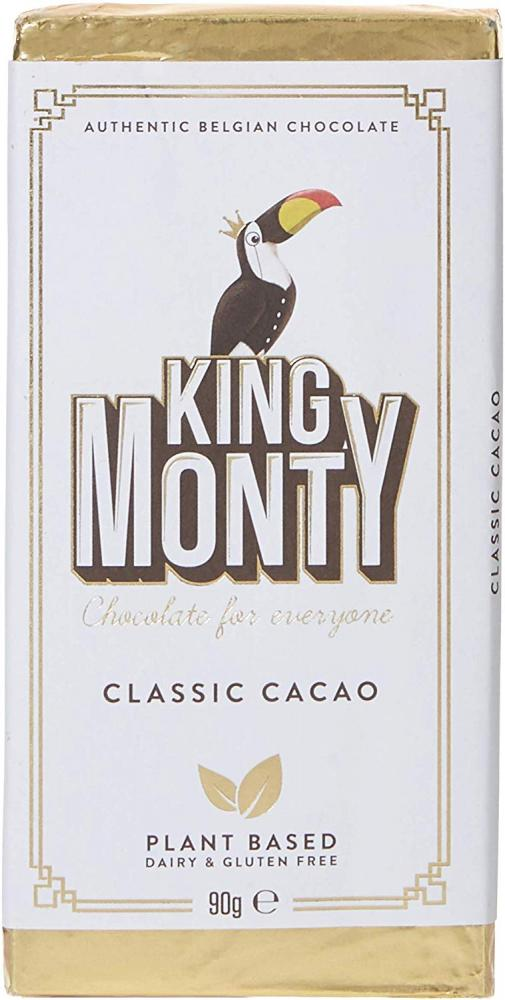 King Monty Classic Cacao Bar 90g