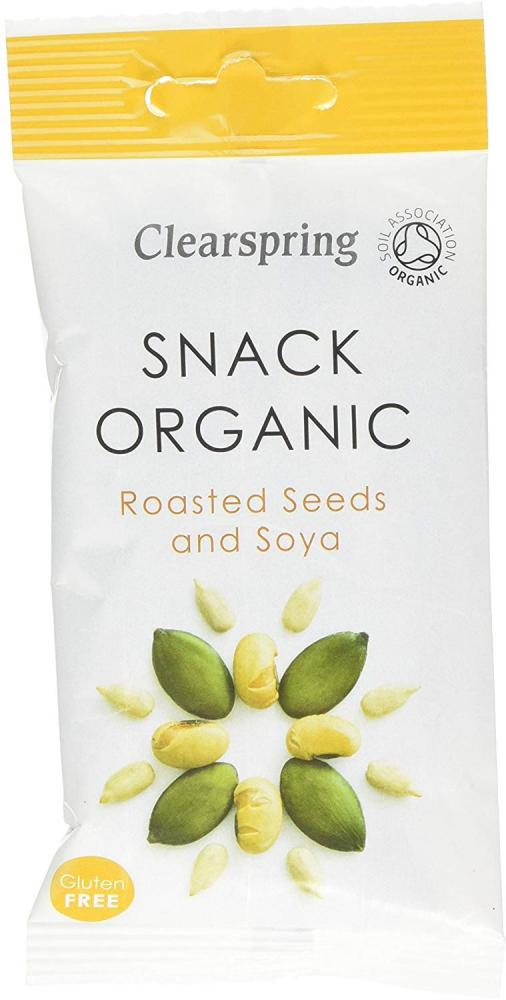 Clearspring Organic Roasted Seeds and Soya Snack 35g