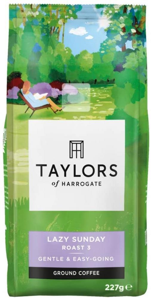 Taylors Of Harrogate Lazy Sunday Ground Coffee 227 g