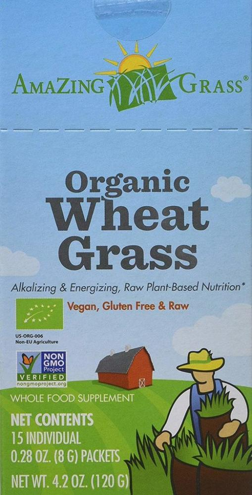 Amazing Grass Organic Wheat Grass 15 Sachets 120 g