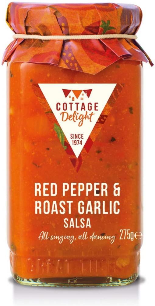 Cottage Delight Red Pepper and Roast Garlic Salsa 275g