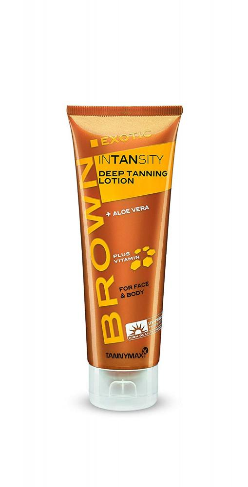 TannyMaxx Brown Exotic Intansity Deep Tanning Lotion 125ml
