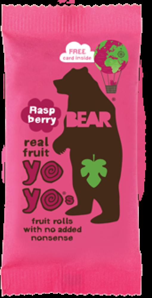 Bear Yo Yos Pure Fruit Raspberry 20 g