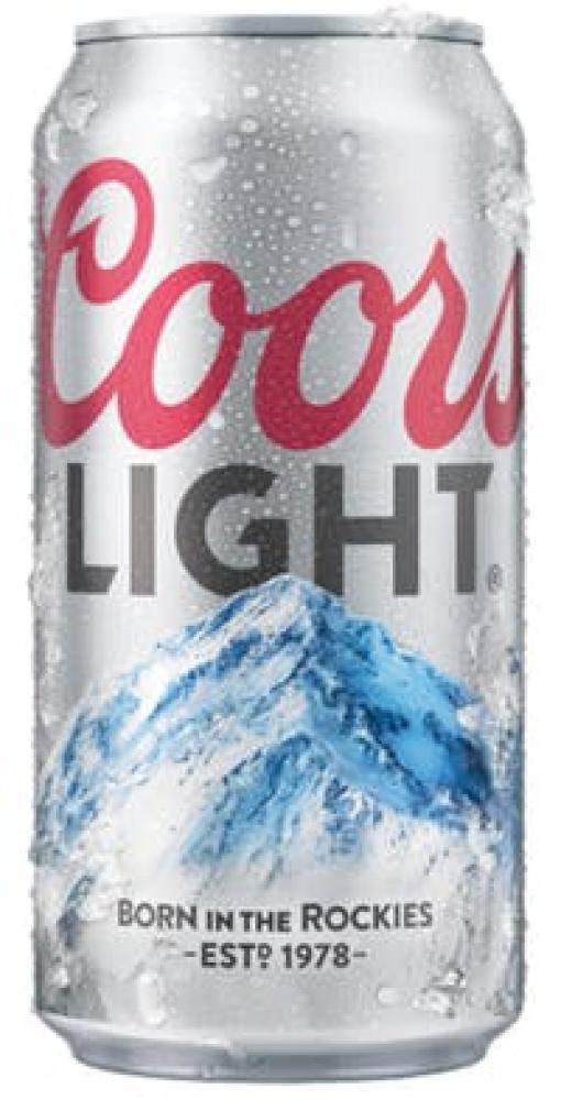 Coors Light Lager 440ml