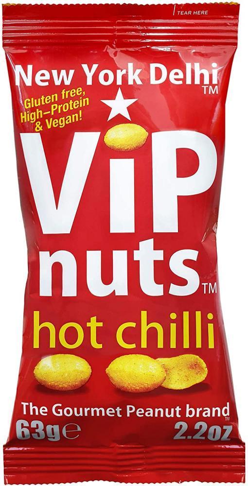 New York Delhi VIP Nuts Hot Chilli 63g