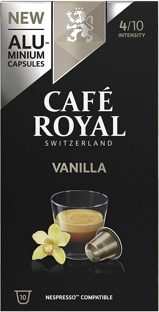 Cafe Royal Vanilla Flavoured Edition Nespresso 10 capsules