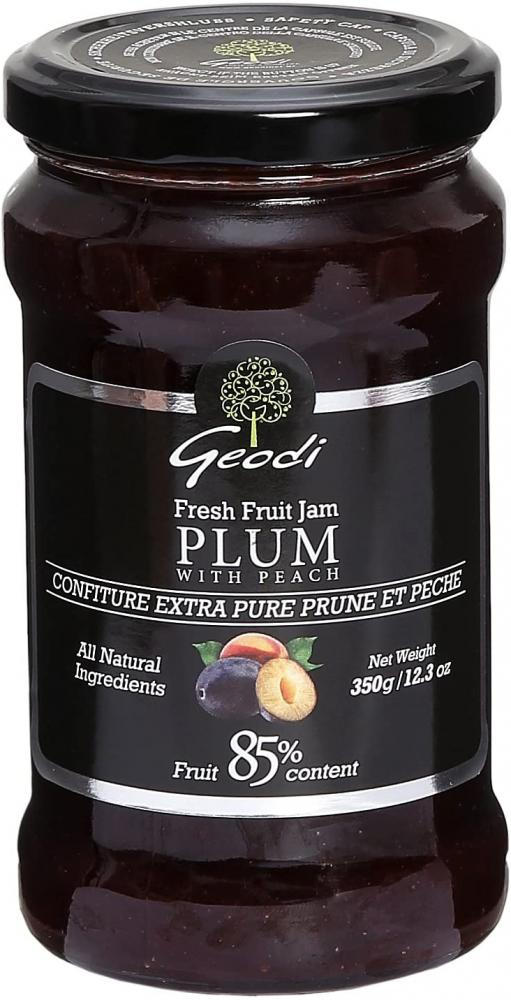 Geodi Fresh Fruit Jam Plum With Peach 350 g