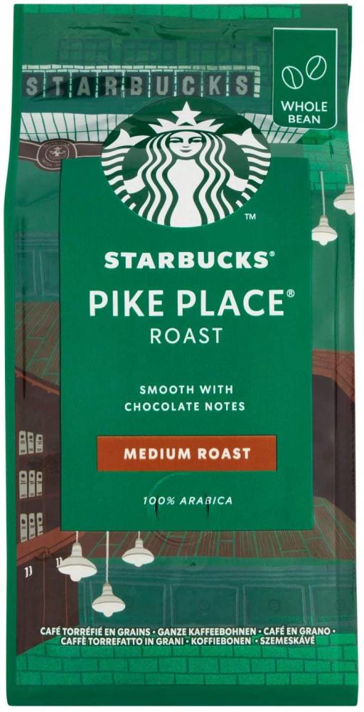 Starbucks Pike Place Coffee Whole Beans 200g