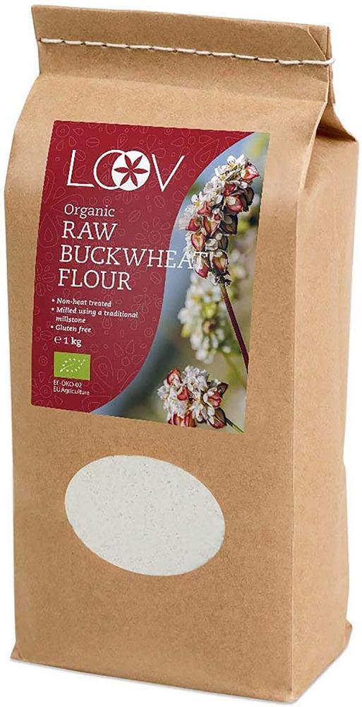 Loov Organic Raw Buckwheat Flour 1kg