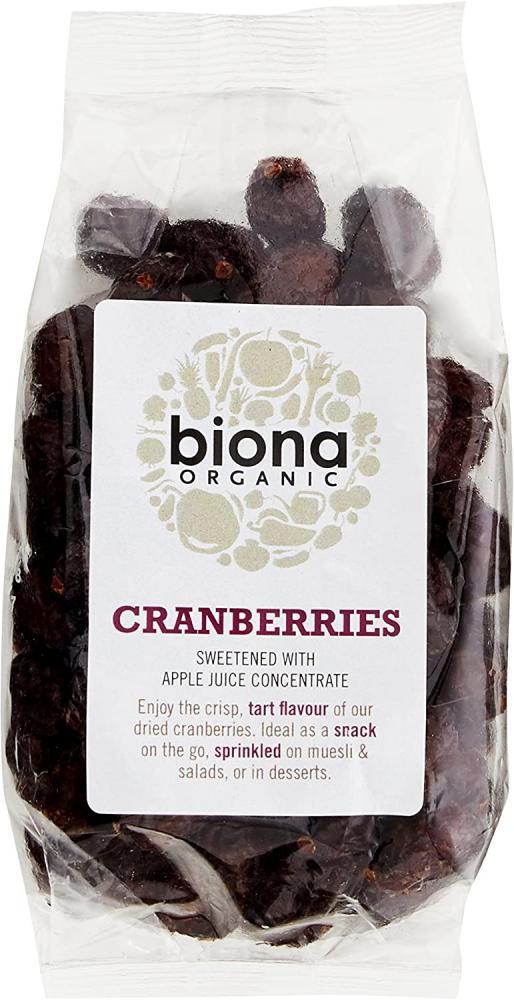Biona Organic Cranberries 100 g