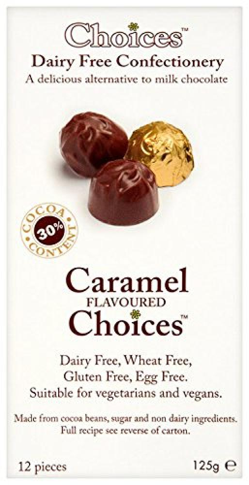 Celtic Chocolates Caramel Flavoured Choices 125g