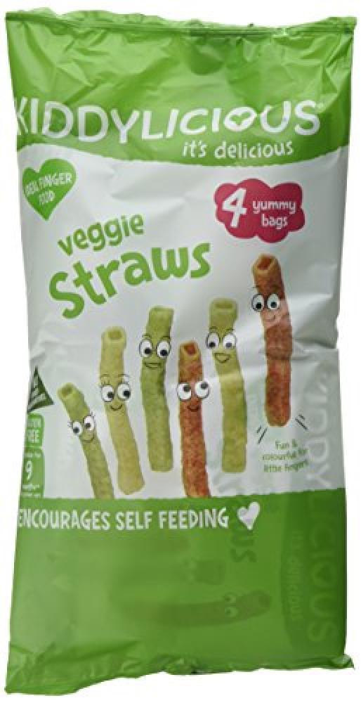 Kiddylicious Multipack Veggie Straws 4x12g