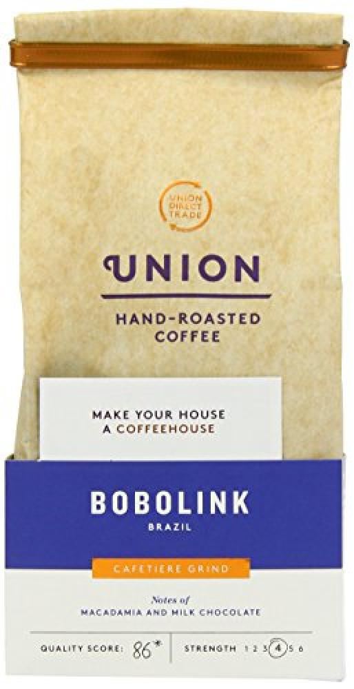 Union Bobolink Brazil Hand Roasted Coffee 200g