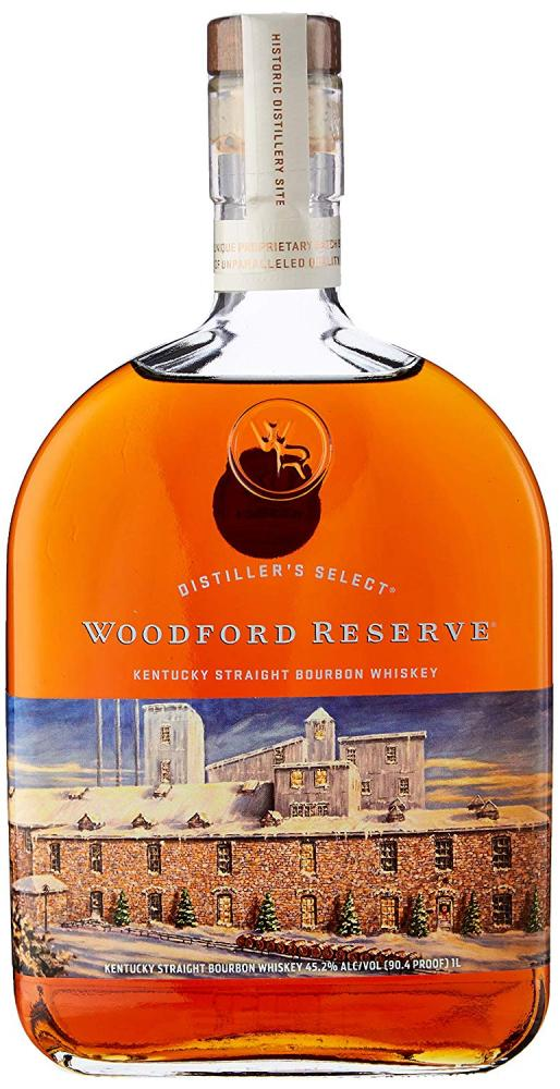 Woodford Reserve Bourbon Whiskey Holiday Edition 1L