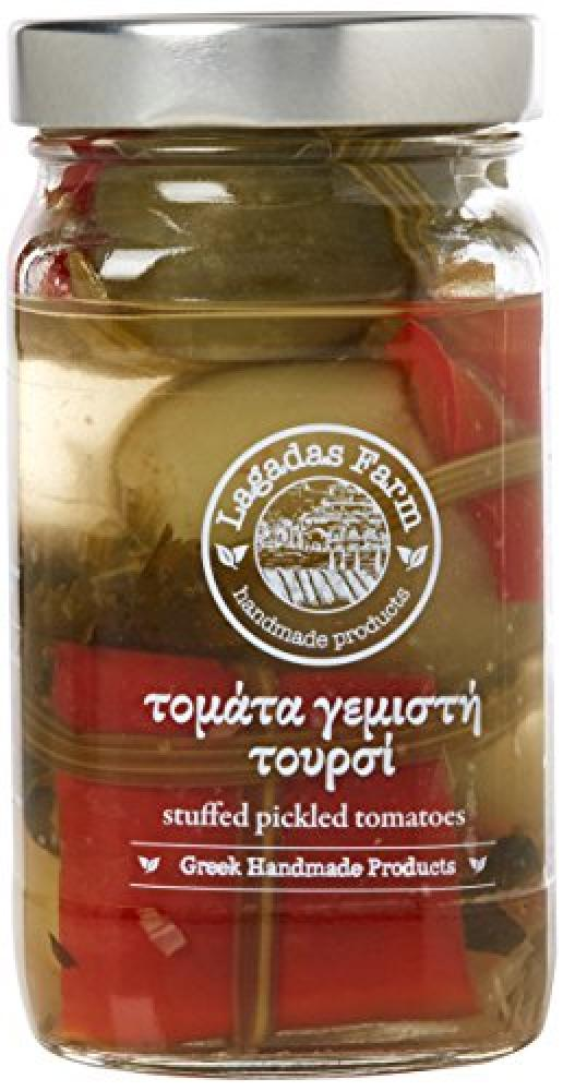 Lagadas Farm Greek Stuffed Pickled Tomato in Glass Jar 500ml