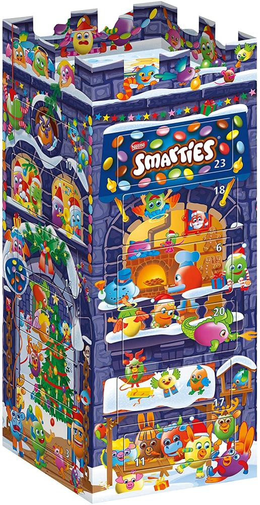Nestle Smarties 3D Castle Advent Calendar 227g