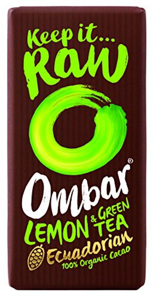 Ombar Lemon and Green Tea