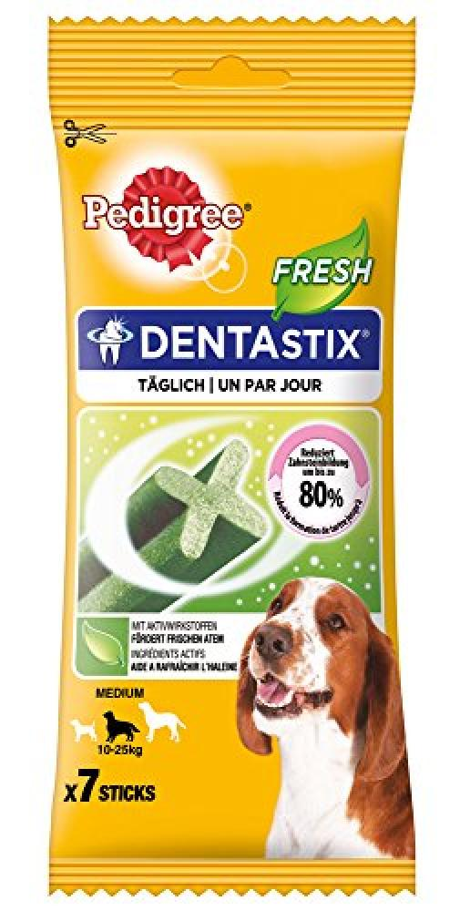 Pedigree Dentastix Fresh Dental Dog Chews - Medium Dog - 7 sticks