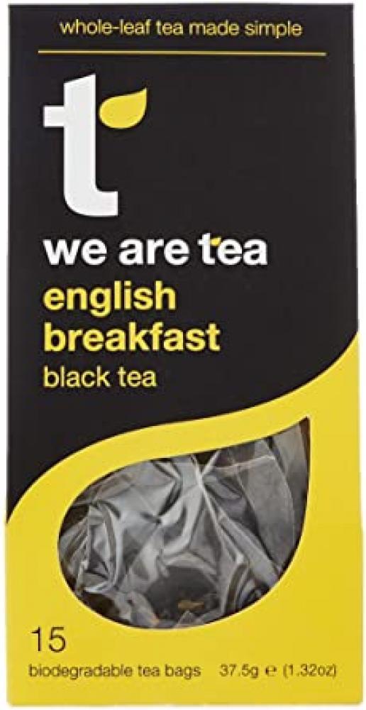 Tea Retail English Breakfast Black Tea 15 Bags