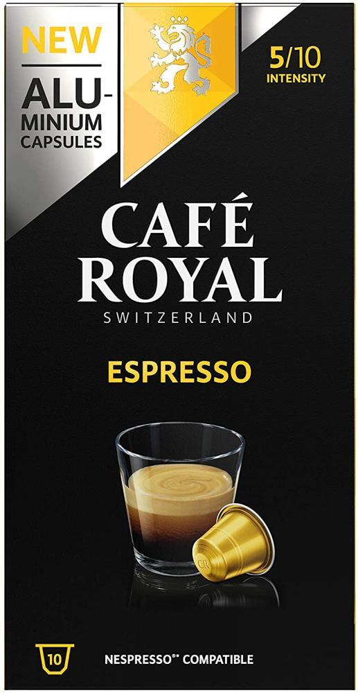 Cafe Royal Espresso Nespresso Strength 5 10 Capsules