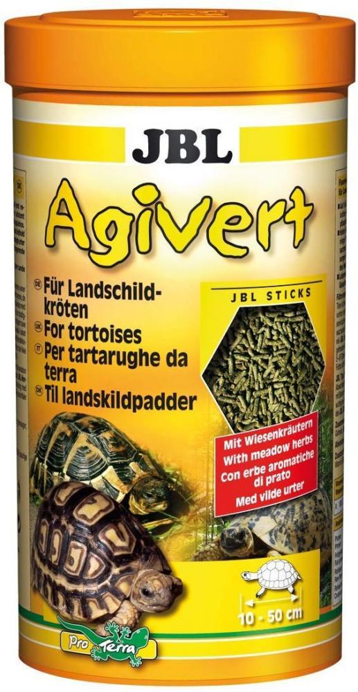 JBL Agivert Tortoise foodfor tortoises measuring 10-50 cm sticks 420 g