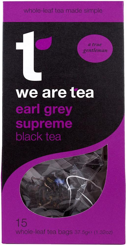 WEEKLY DEAL  Tea Retail Earl Grey Supreme Black Tea 15 Bags