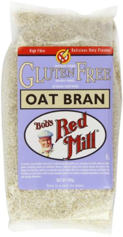 Bobs Red Mill Pure Oat Bran Gluten Free 400 g