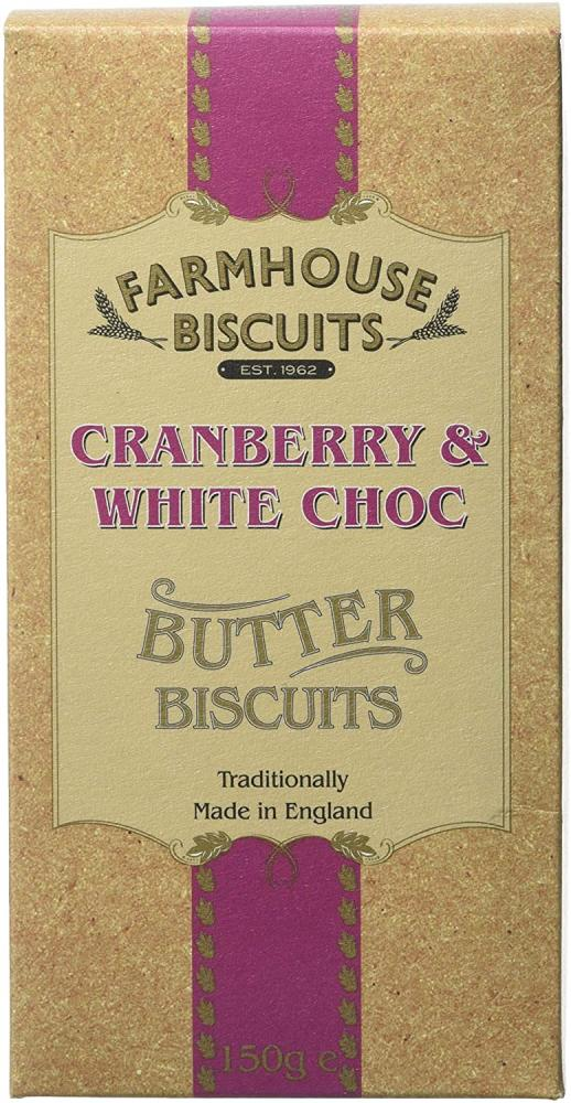 Farmhouse Biscuits Cranberry and White Choc 150g