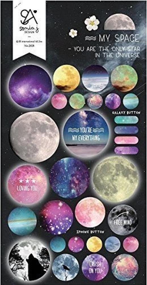 Sonia J Designs My Space Stickers