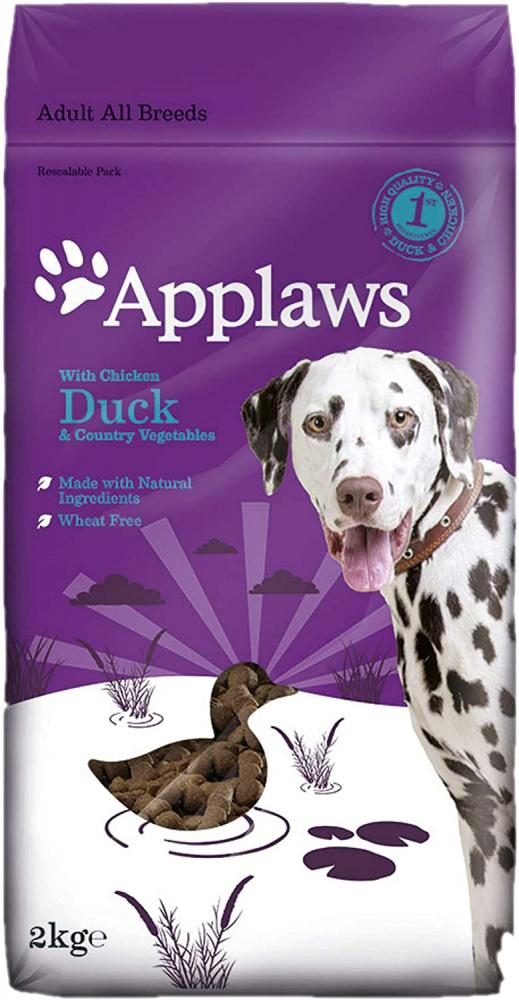Applaws Wheat Free and Complete Dry Dog Food Chicken with Duck 2kg