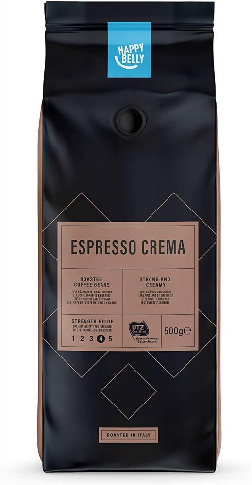 Happy Belly Coffee Beans Espresso Crema 500g