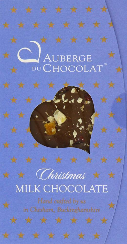 Auberge du Chocolate Christmas Milk Chocolate Bar 90g