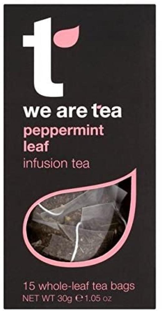 Tea Retail Peppermint Leaf Infusion Tea 15 Bags