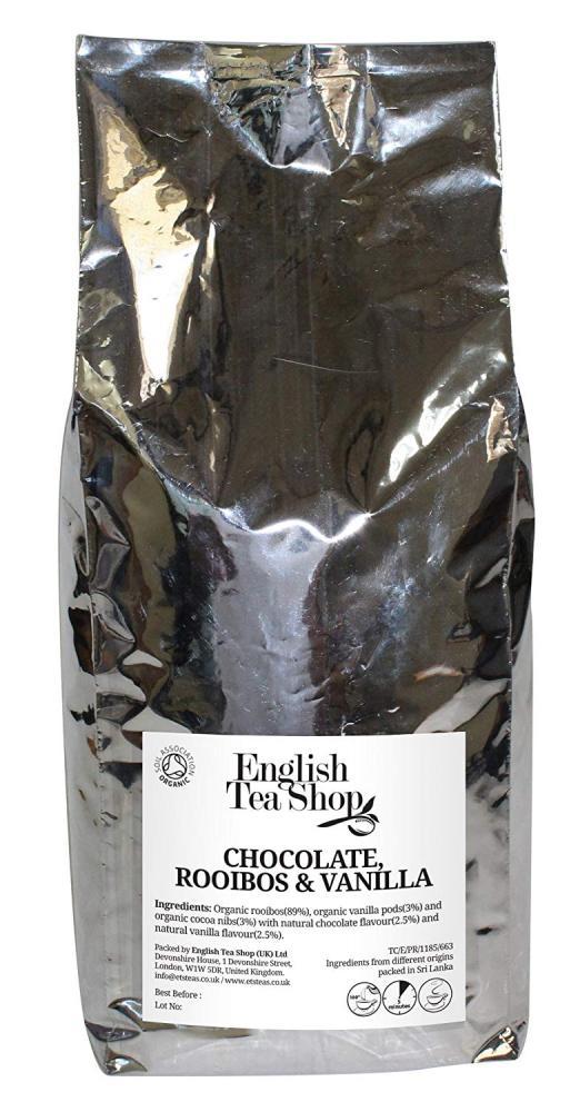 English Tea Shop Organic Chocolate Rooibos Vanilla Tea 1kg