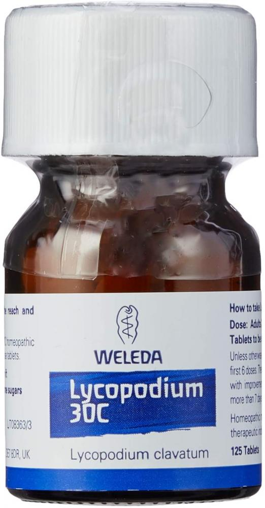Weleda Lycopodium 30C Pack of 125 Tablets