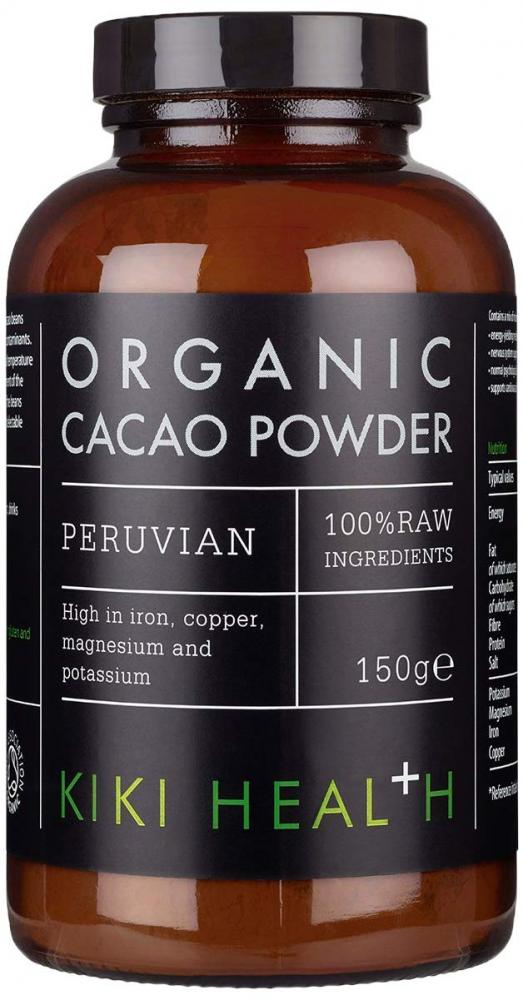 Kiki Health Organic Raw Cacao Powder 150 g