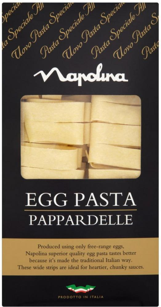 Napolina Egg Pasta Pappardelle 250g