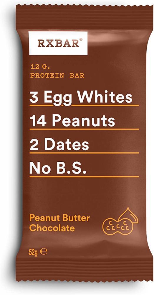 RXBAR Peanut Butter Chocolate Gluten Free Protein Bar 52 g