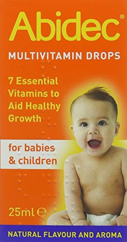 Abidec Multivitamin Supplement for Babies and Children Drop 25ml Damaged Box