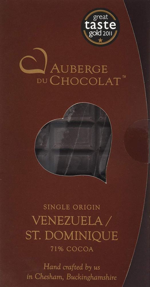 Auberge du Chocolate Single Origin Venezuela St Dominique Dark Chocolate 90g