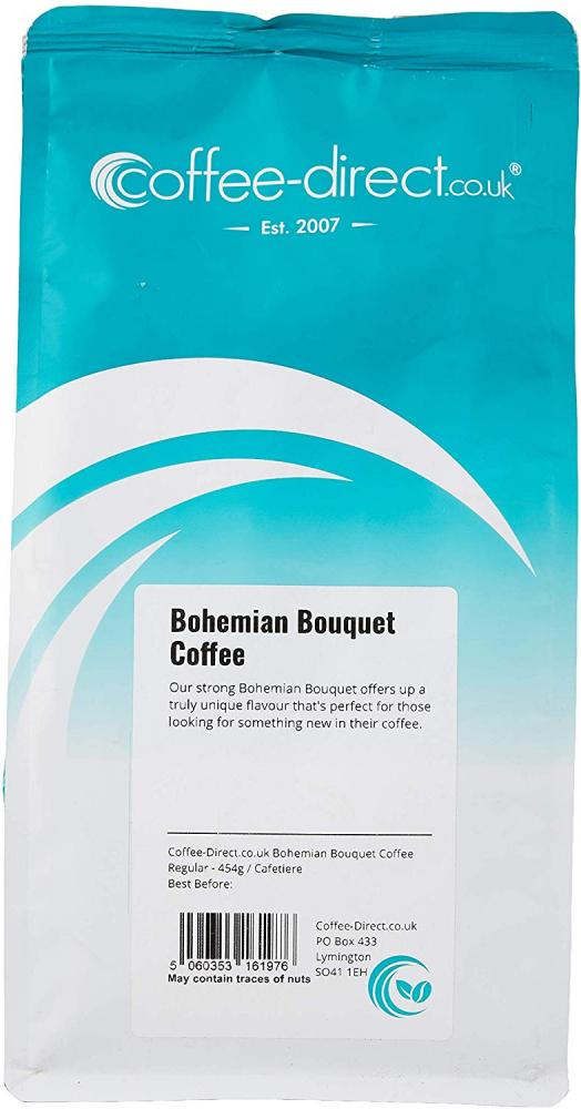 Coffee Direct Cafetiere Grind Bohemian Bouquet Coffee 454 g