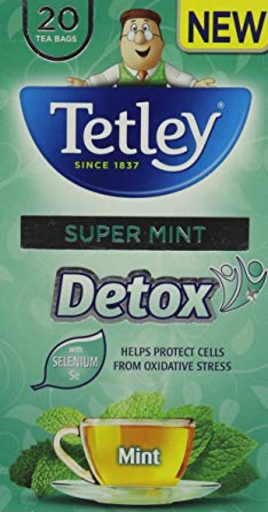 Tetley Super Mint Detox Tea 20 Bags