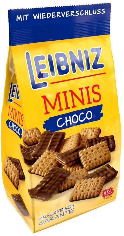 Bahlsen Leibniz Choco Minis Biscuits 125g