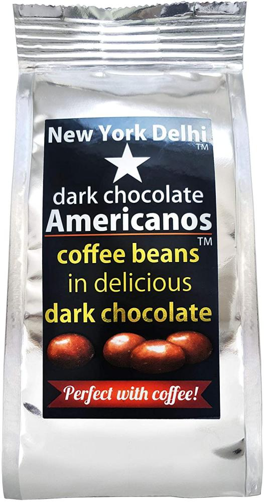New York Delhi Coffee Beans In Delicious Dark Chocolate 63g