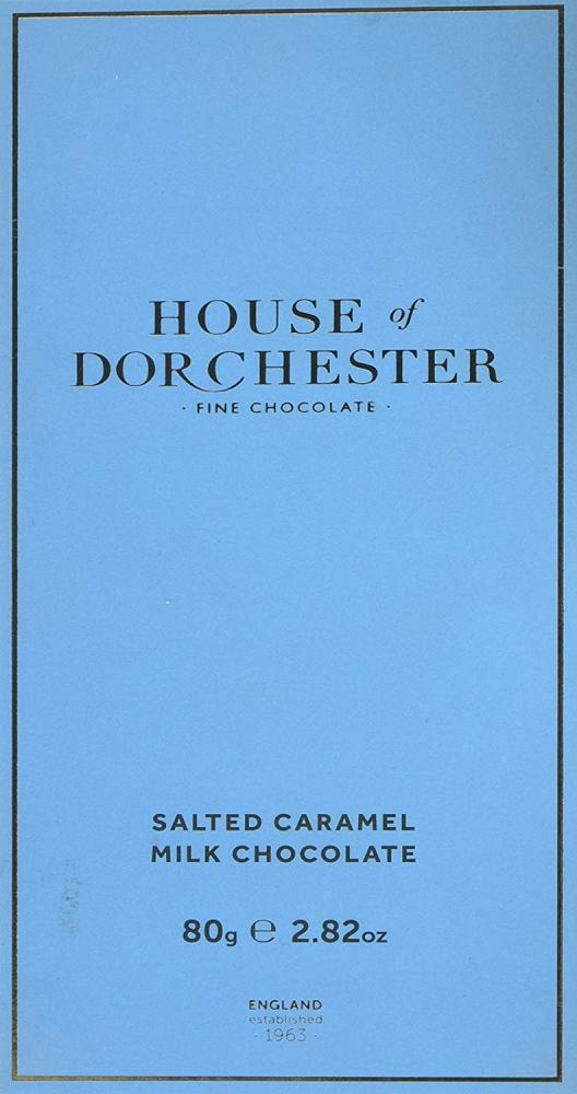 House Of Dorchester Salted Caramel Milk Chocolate Bar 80g