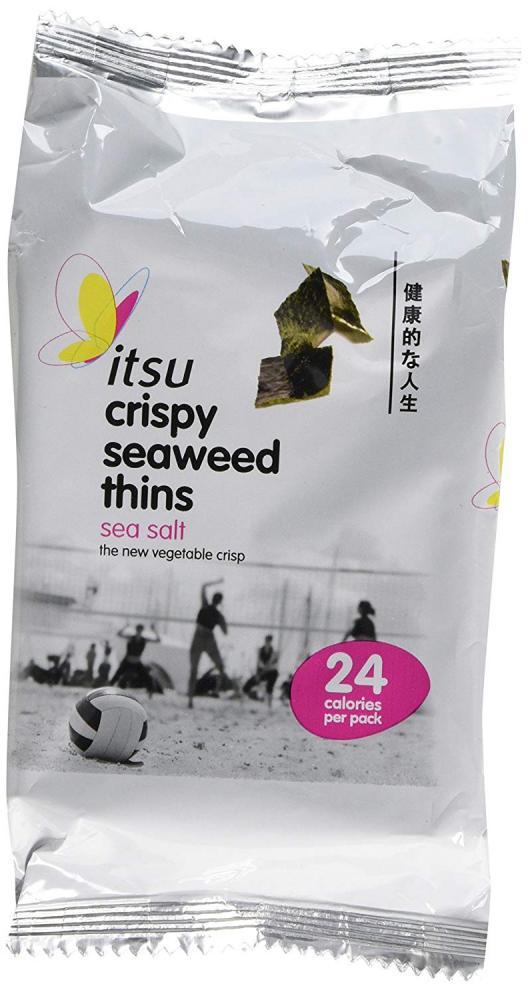 Itsu Crispy Seaweed Thins Sea Salt Flavour 3 x 5g