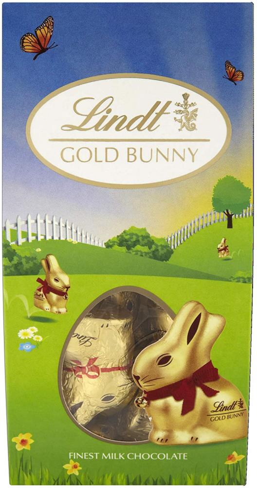 Lindt Milk Chocolate Mini Gold Bunny Pouch 100 g