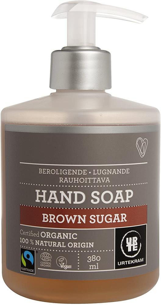 Urtekram Brown Sugar Liquid Hand Soap Calming 380 ml