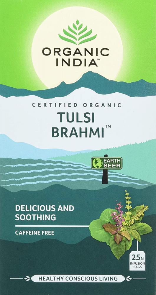 Organic India Organic Tulsi Brahmi 25 bags